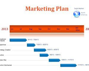 2in1 Simple business plan PowerPoint Template The